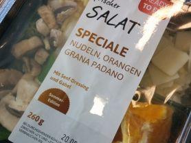 Frischer Salat Speciale, Orange, Grana Padano, Senf-Dressing | Hochgeladen von: jenniferreinhard