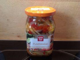 Puszta-Salat, herzhaft-würzig, Rewe | Hochgeladen von: Idaepunkt