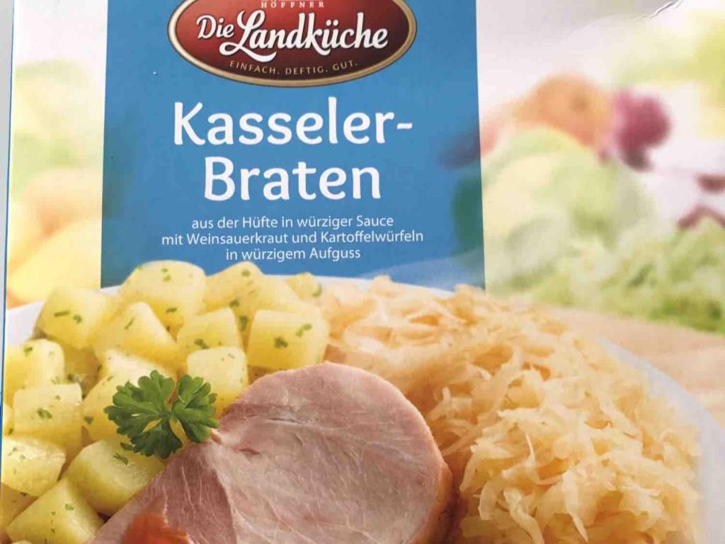 Die Landküche, Kasseler-Braten, mit Weinsauerkraut und ...