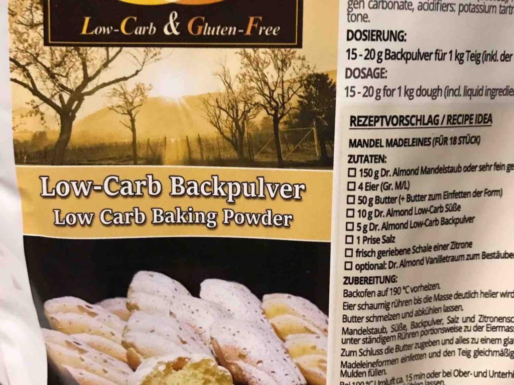 low-carb Backpukver von DianaundDaniel   Hochgeladen von: DianaundDaniel