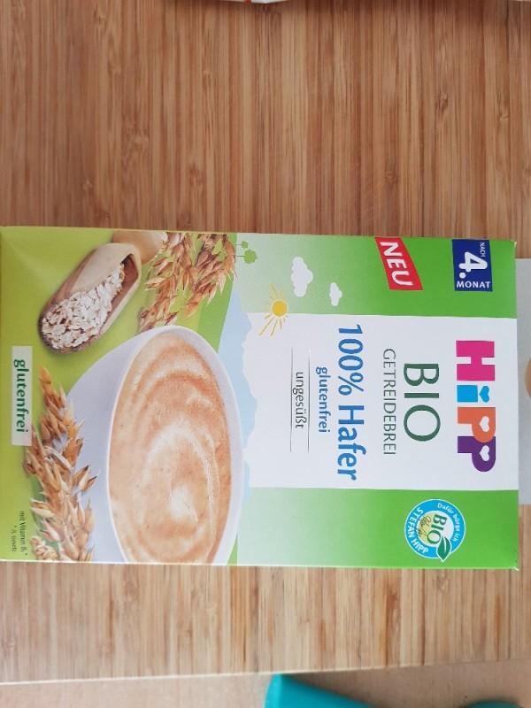 Bio Getreidebrei, 100 % Hafer glutenfrei von anjaammer720   Hochgeladen von: anjaammer720