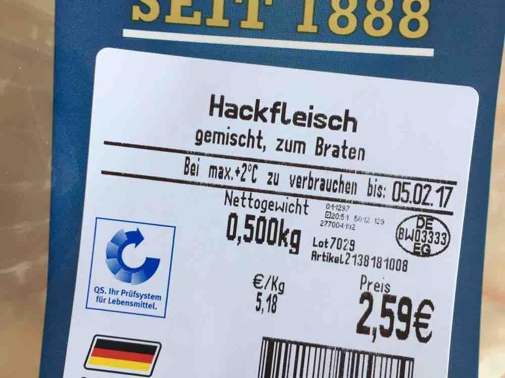 Hackfleisch von BinaPünktchen | Hochgeladen von: BinaPünktchen