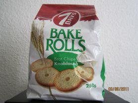 Bake Rolls Knoblauch