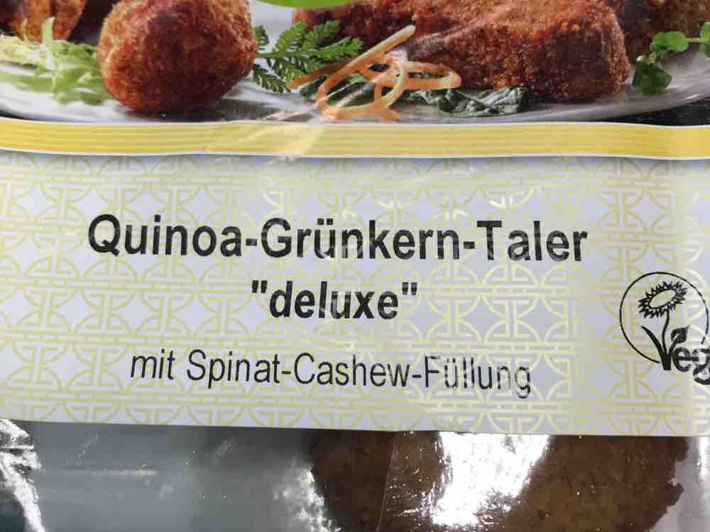 """Quinoa-Grünkern-Taler """"deluxe"""" , mit Spinat-Cashew-Füllung von maramira   Hochgeladen von: maramira"""