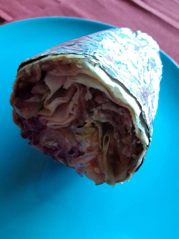 Dürüm Kalb, Salat, Sauce von anke28475 | Hochgeladen von: anke28475
