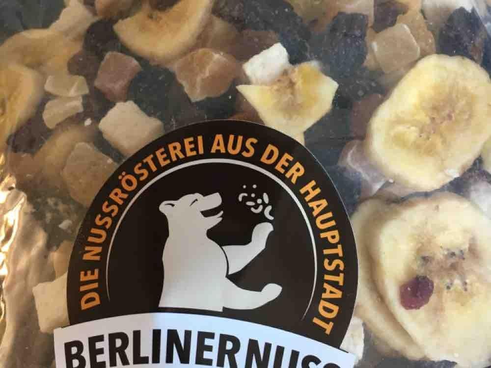 Tropical Berlin, Knabbermischung aus Nüssen und Trockenfrüchten von puella | Hochgeladen von: puella
