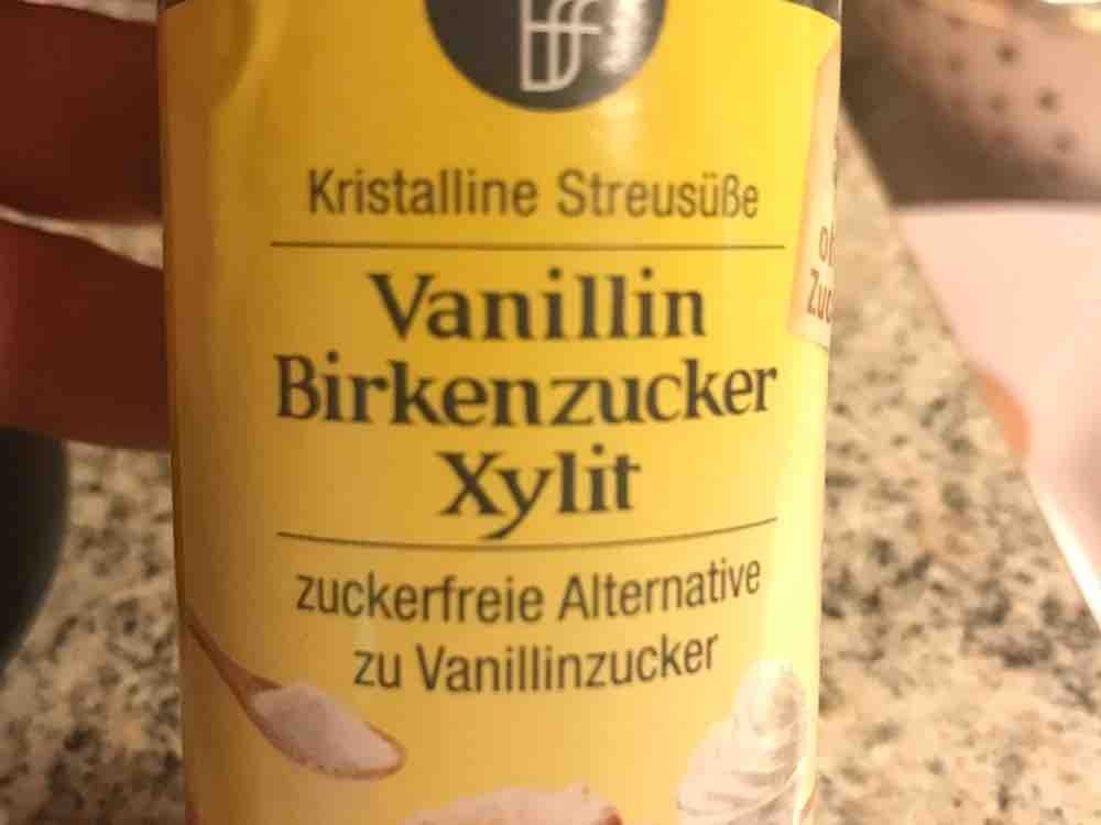 Vanilin Birkenzucker Xylith, keto von KiKiSePi | Hochgeladen von: KiKiSePi