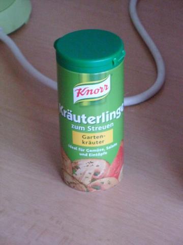 Knorr Kräuterlinge zum Streuen, Gartenkräuter | Hochgeladen von: Bri2013