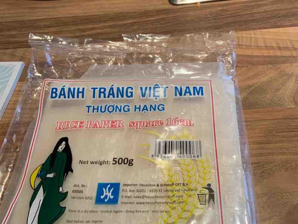 Banh Trang Viet Nam, Ricepaper, Reispapier, Reis von dorisch | Hochgeladen von: dorisch