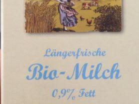 Längerfrische Bio-Milch , 0,9% Fett | Hochgeladen von: Alice.