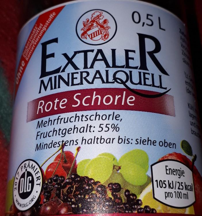 Extaler Rote Schorle, Mehrfruchtschorle von Enomis62   Hochgeladen von: Enomis62