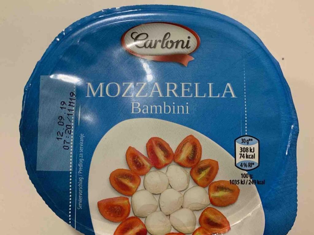 Mozzarella Bambini von mschmidli   Hochgeladen von: mschmidli