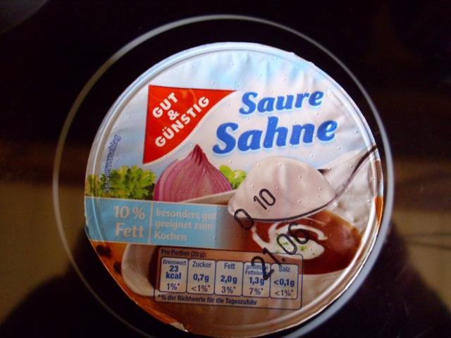 Saure Sahne, (G+G) | Hochgeladen von: Pummelfee71