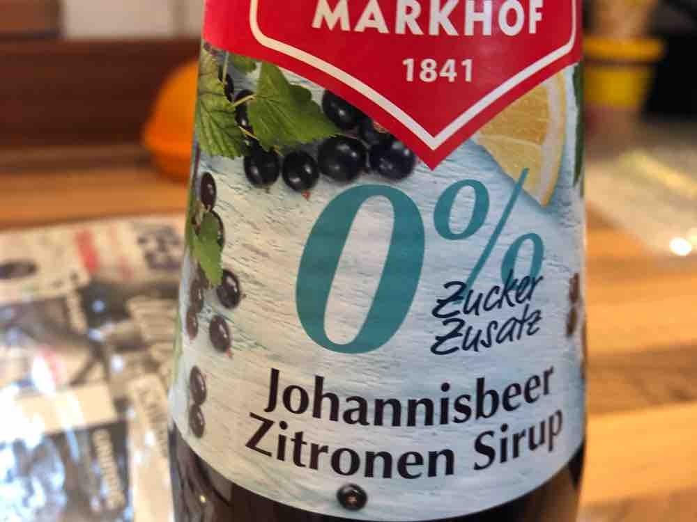 Mautner Markhof 0% Zuckerzusatz Sirup, Johannisbeere-Zitrone von RazY | Hochgeladen von: RazY