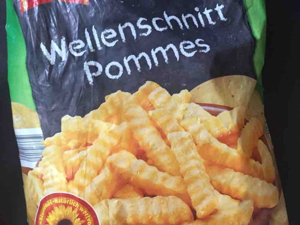 Le Gusto Wellenschnitt Pommes Kalorien Kartoffelprodukte Fddb