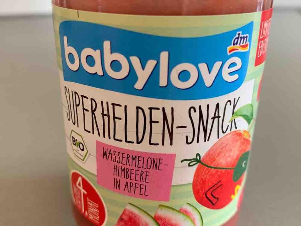 Superhelden Snack, Wassermelone-Himbeere in Apfel von felidamma401   Hochgeladen von: felidamma401