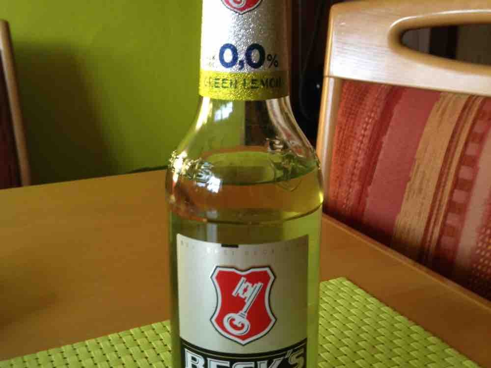 Brauerei Beck, Becks Green Lemon Zero Kalorien - Alkoholische ...