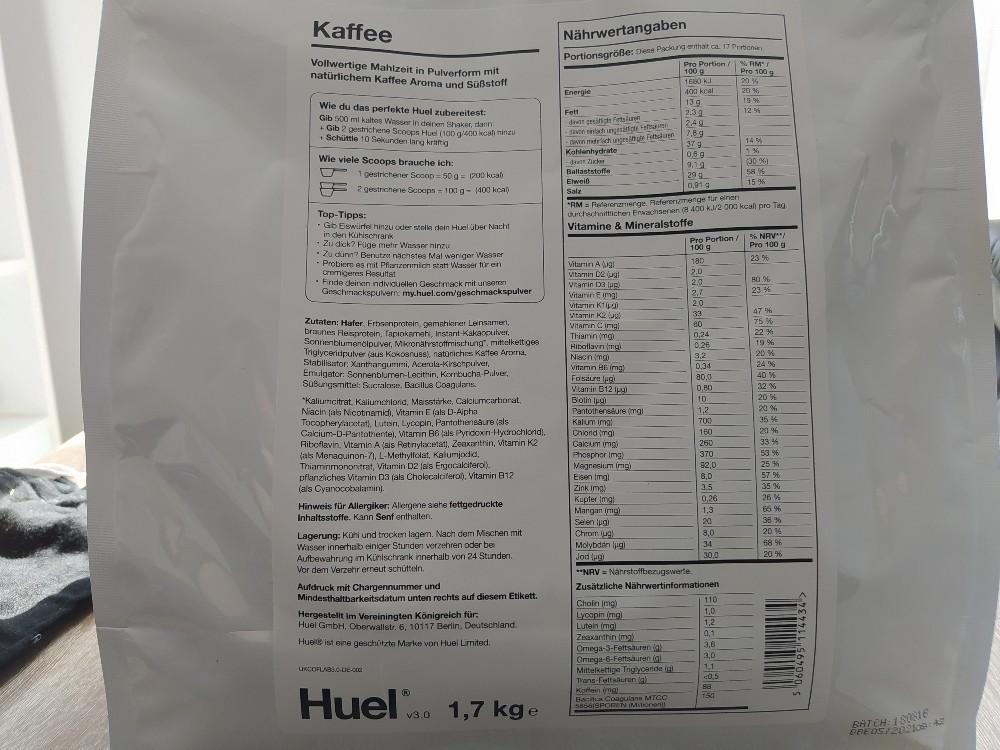 Huel v3.0 Kaffee von nikgaige   Hochgeladen von: nikgaige