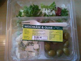 Weichkäse und Oliven , Kräuter Dressing  | Hochgeladen von: huhn2