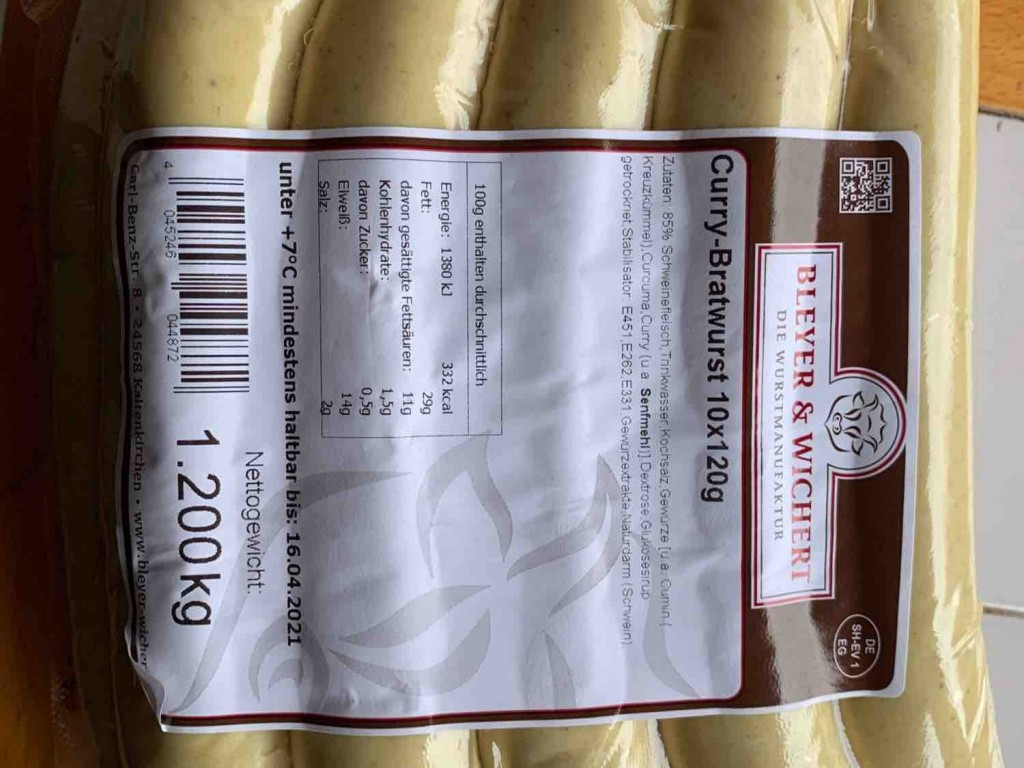 Curry Bratwurst von meheleben658 | Hochgeladen von: meheleben658