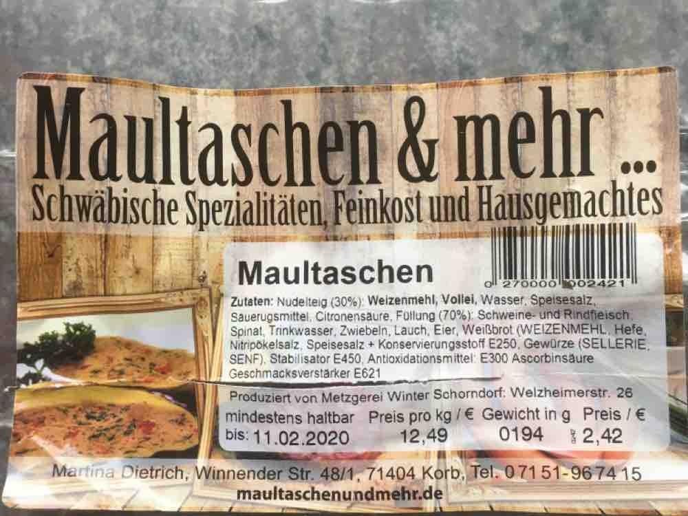 Maultaschen von Albrecht | Hochgeladen von: Albrecht
