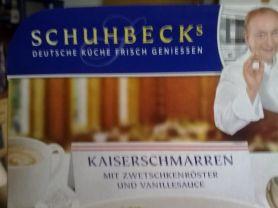 Schuhbecks Kaiserschmarren, mit Zwetschgenröster   Hochgeladen von: dagi.s