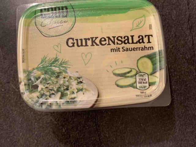 Gurkensalat mit sauerrahm von Neo02 | Hochgeladen von: Neo02