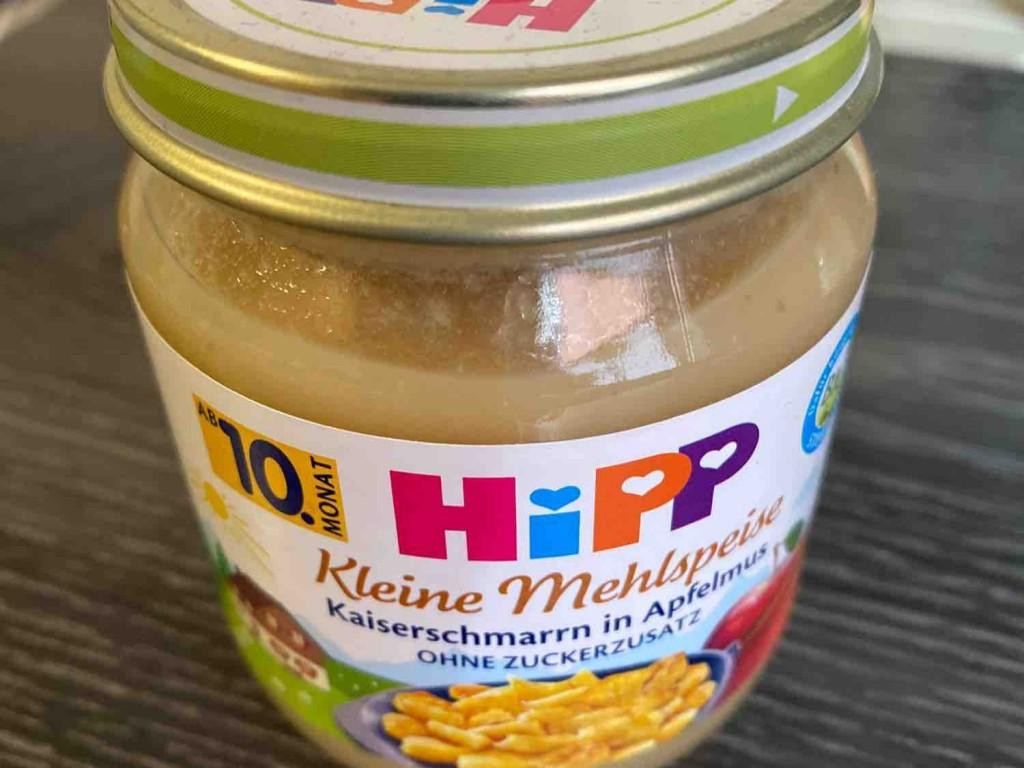 Kleine Mehlspeise, Kaiserschmarrn in Apfelmus von MarenPaul   Hochgeladen von: MarenPaul