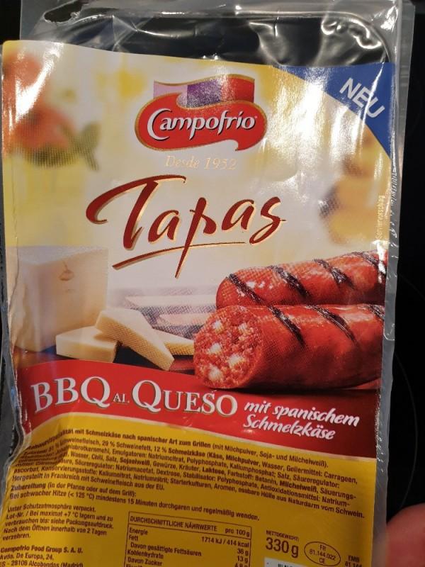 Tapas BBQ Al Queso, mit spanischem Schmelzkäse von bruch1992367   Hochgeladen von: bruch1992367