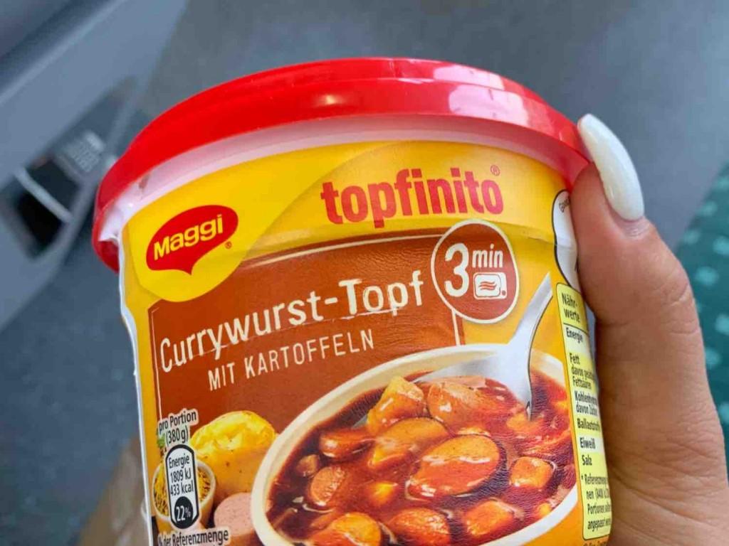 Topfinito Currywurst-Topf, mit Kartoffeln von Caatiixx3 | Hochgeladen von: Caatiixx3