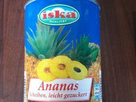 Ananas (Scheiben, leicht gezuckert), Ananas | Hochgeladen von: subtrahine