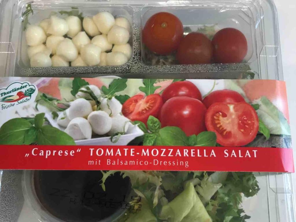 Tomate Mozzarella Salat, mit Balsamico Dressing von Spieler0815   Hochgeladen von: Spieler0815