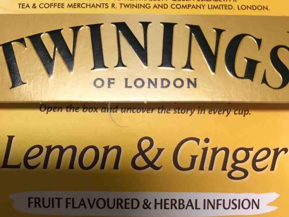 Gingertee, Lemon & Ginger von MartinaAM   Hochgeladen von: MartinaAM
