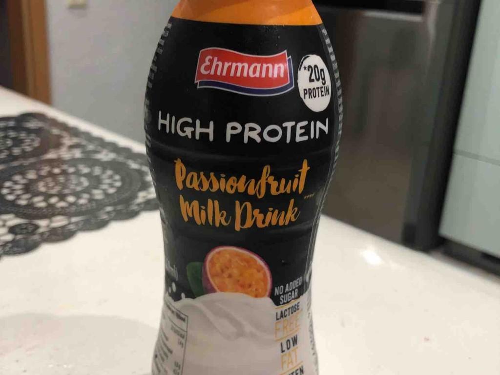 HIGH PROTEIN - Milk Drink  , Passionsfruit von oezcanoeztuerk2855 | Hochgeladen von: oezcanoeztuerk2855