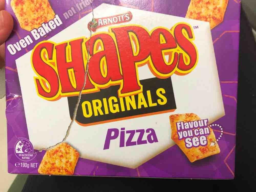 Shapes Originals Pizza, oven baked - not fried von LizzRei | Hochgeladen von: LizzRei