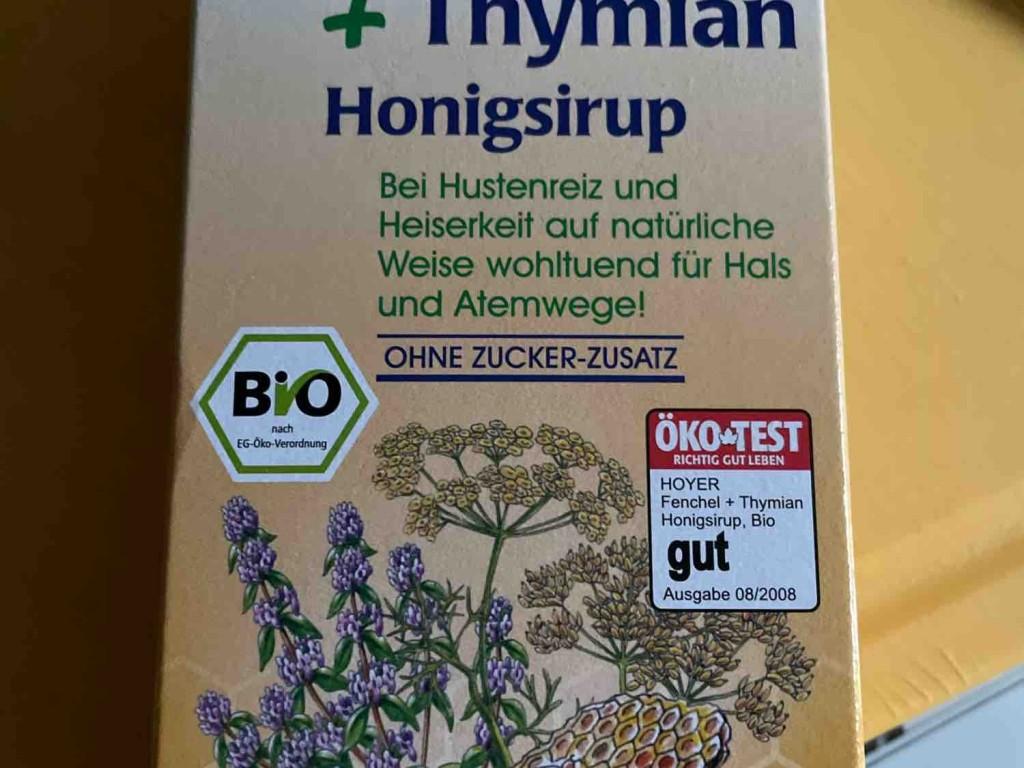 Honigsirup Fenchel und Thymian, Fenchel und Thymian von mmvw | Hochgeladen von: mmvw