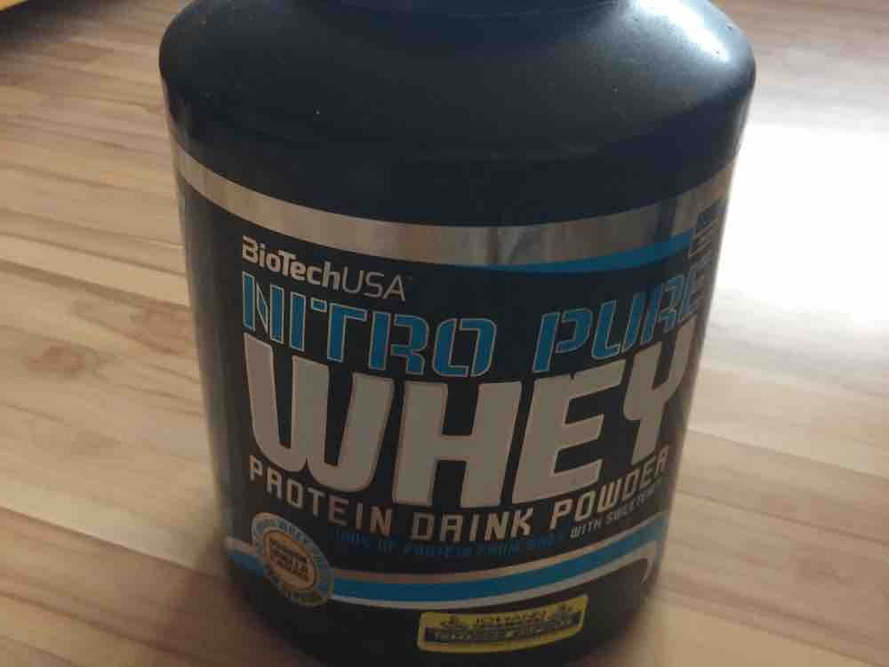 Nitro Pure Whey Protein Drink Powder, Chocolate von pantelisvoukant329 | Hochgeladen von: pantelisvoukant329