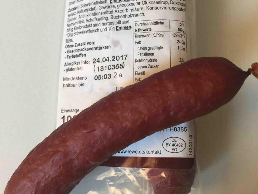 Mini Kabanos , mit Käse von fraugucci | Hochgeladen von: fraugucci