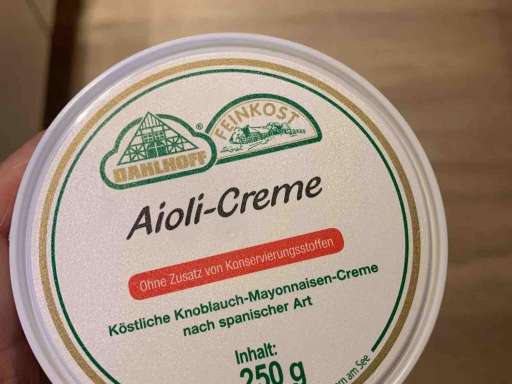 Aioli-Creme, Knoblauch von Sandra1674   Hochgeladen von: Sandra1674