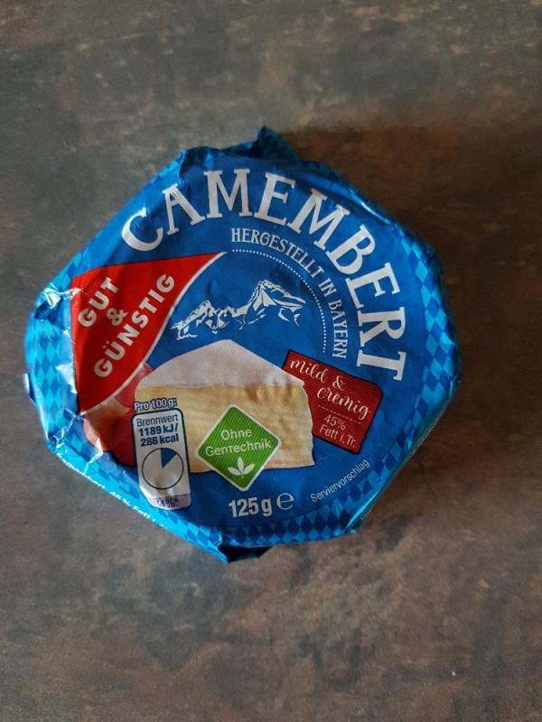 Camembert Edeka gut & günstig, 45 % Fett von moni6983 | Hochgeladen von: moni6983