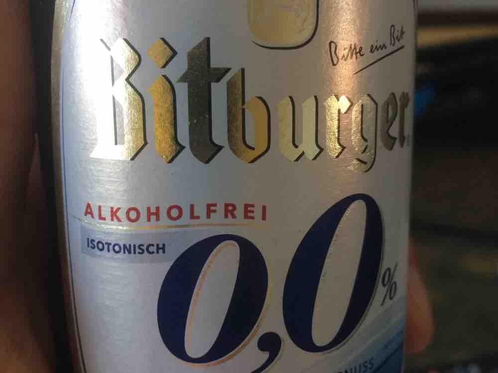 Bitburger 0,0 %, alkoholfreies Pils  von PfalzTrailer   Hochgeladen von: PfalzTrailer