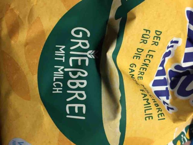 """miluvit """"mit"""" Grießbrei mit Milch, ab dem 6. Monat von Gipsy89   Hochgeladen von: Gipsy89"""