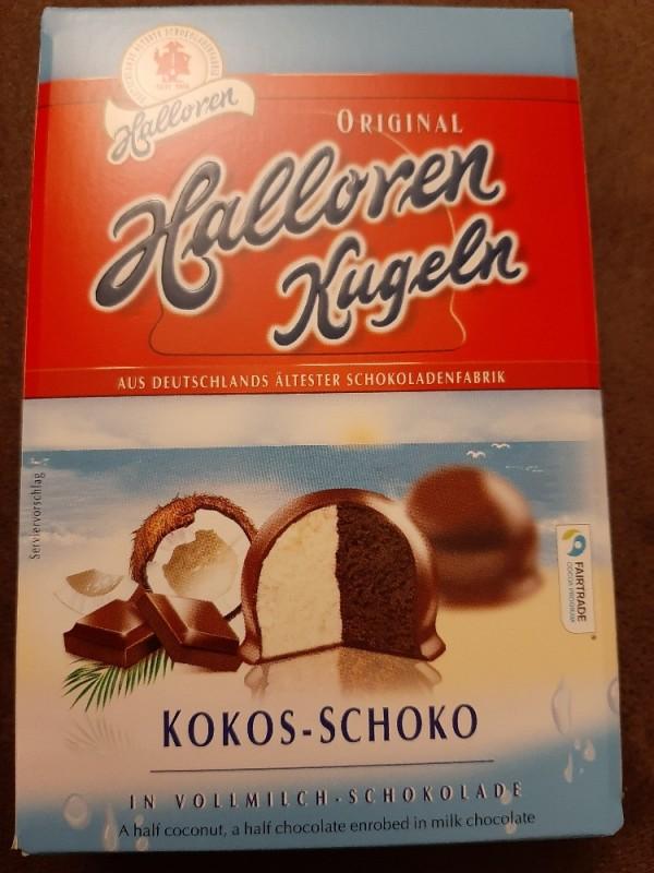 Halloren Kugeln, Kokos-Schoko in Vollmilch-Schokolade von inamer373   Hochgeladen von: inamer373