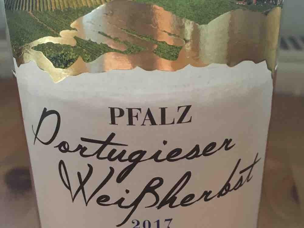 Portugieser Weissherbst, lieblich von Zumsl | Hochgeladen von: Zumsl