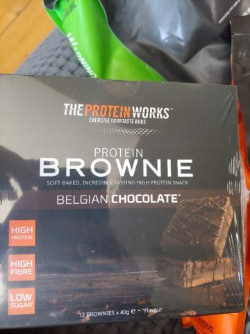 Protein Brownies, Belgian Chocolate von giannisrudka659   Hochgeladen von: giannisrudka659
