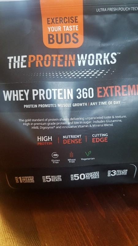 Whey Protein 360 Extreme, Cinnamon Cereal Milk von SusanR. | Hochgeladen von: SusanR.