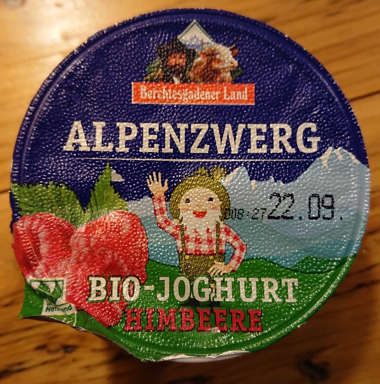 Alpenzwerg Bio-Joghurt, Himbeere von yavin   Hochgeladen von: yavin