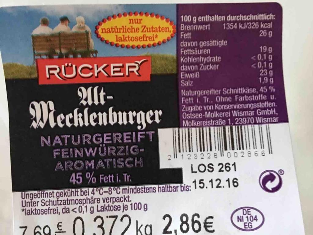 Alt-Mecklenburger Tilsiter, herzhaft-pikant von mcbru | Hochgeladen von: mcbru