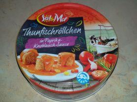 Thunfischröllchen in Paprika-Knoblauch-Sauce (Sol & Mar) | Hochgeladen von: jana74