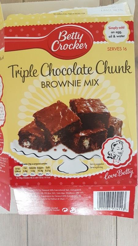 Crocker Chocolate Fudge Brownie Mix von Talisca | Hochgeladen von: Talisca